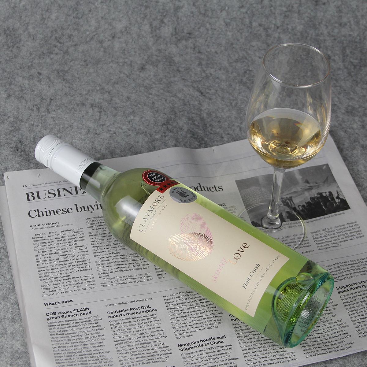 澳大利亚克莱尔谷趣摩酒庄维欧尼初恋半甜白葡萄酒