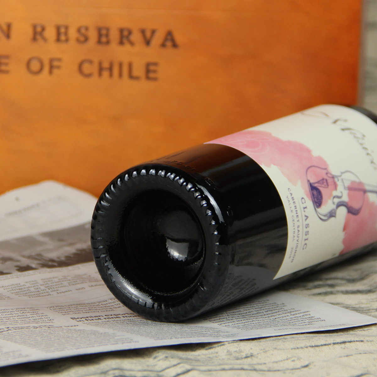 智利中央山谷Musico酒庄音乐家小提琴赤霞珠红葡萄酒