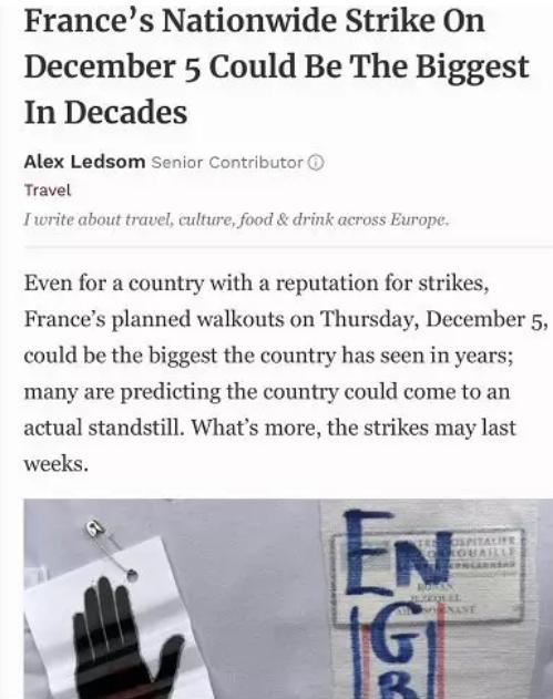 """法国将爆最大规模罢工,船运停摆助推葡萄酒""""有货为王""""?"""