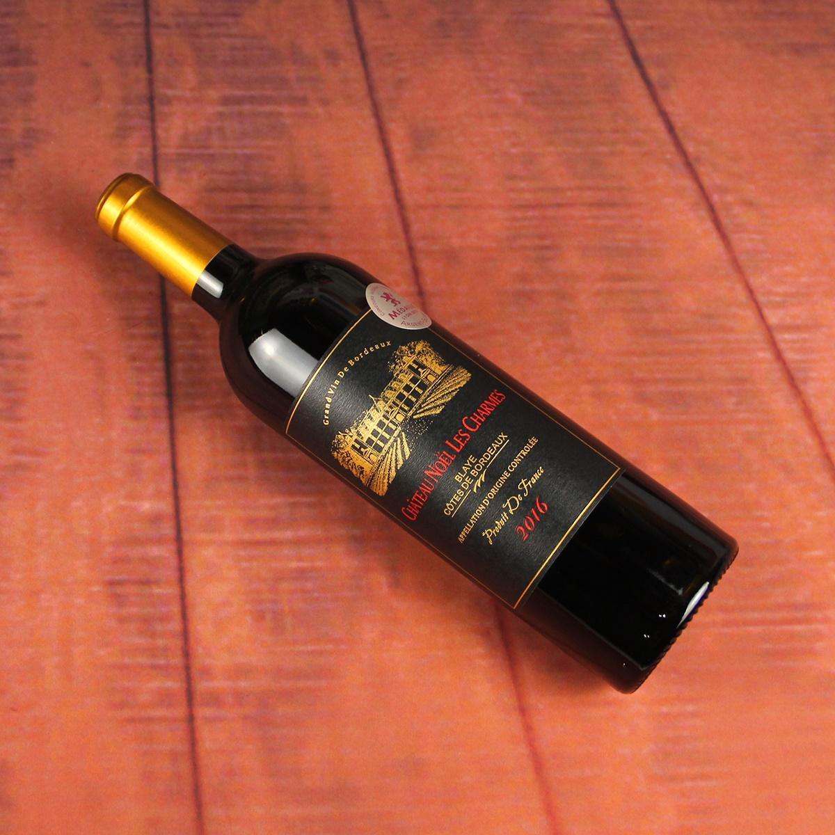 法國波爾多布萊依丘諾雷古堡混釀特釀AOC(村莊級)干紅葡萄酒