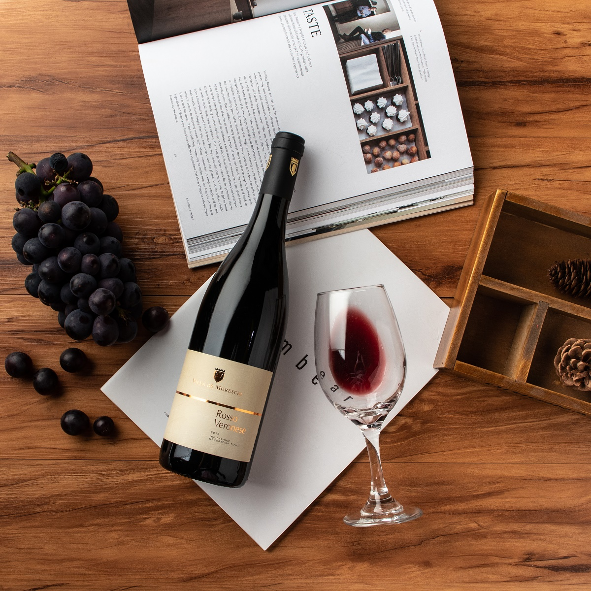 意大利威尼托莫里斯基酒庄梅洛柯维娜混酿维罗纳IGT干红葡萄酒