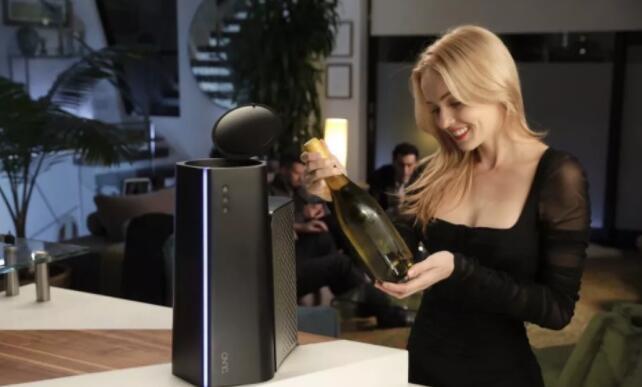 Juno葡萄酒冷却神器,3分钟制冷一瓶葡萄酒
