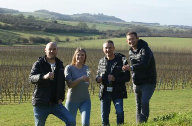 英国起泡酒商Black Chalk在Hampshire郡租用4个葡萄园
