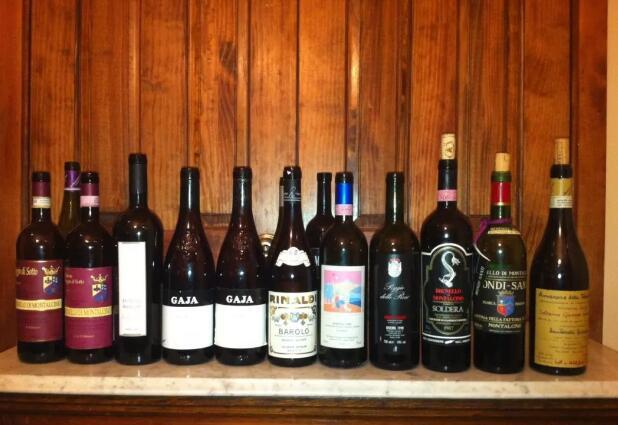 意大利最贵葡萄酒前三位:Brunello,Amarone和Barolo
