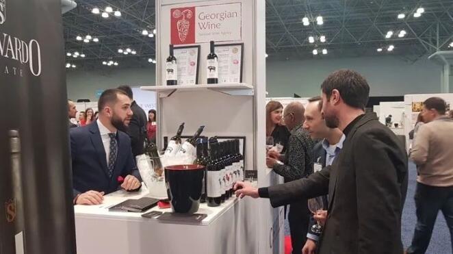 格鲁吉亚12家葡萄酒商参加纽约葡萄酒博览会