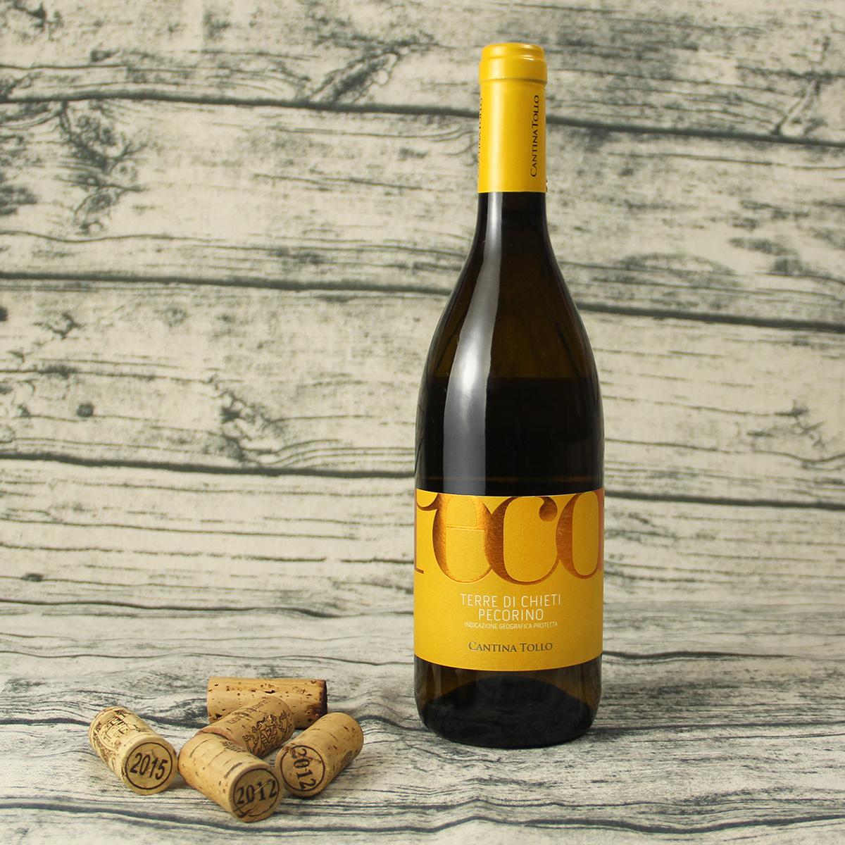 意大利基耶蒂CANTINA TOLLO帕高里奧IGP干白葡萄酒