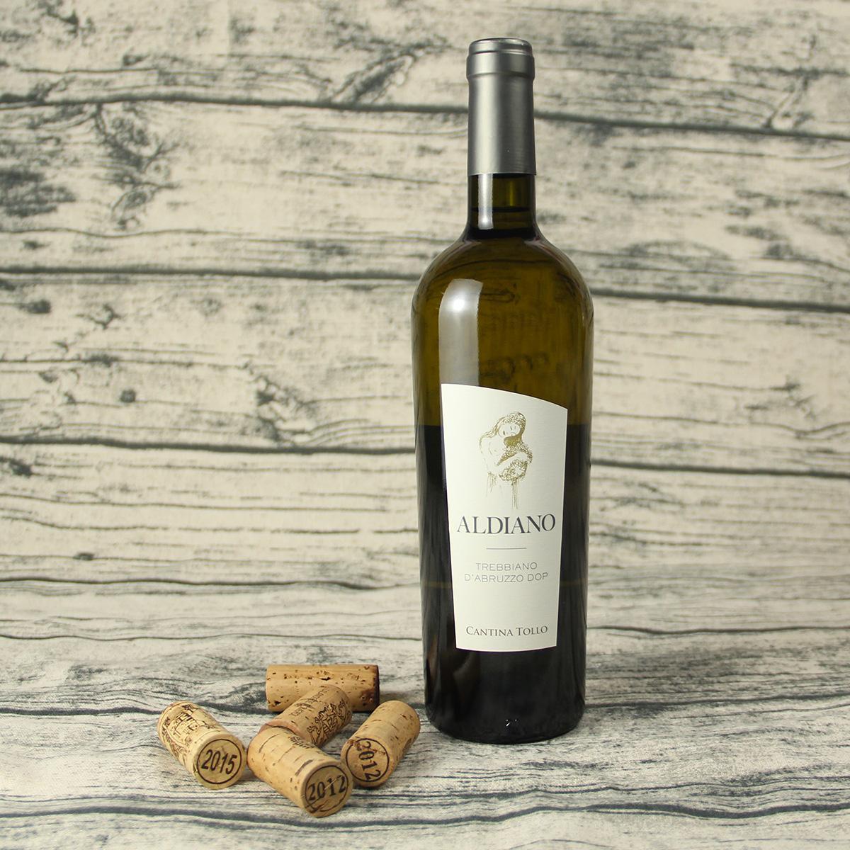 意大利阿布鲁佐CANTINA TOLLO特雷比奥罗霞多丽埃尔戴奥DOP干白葡萄酒