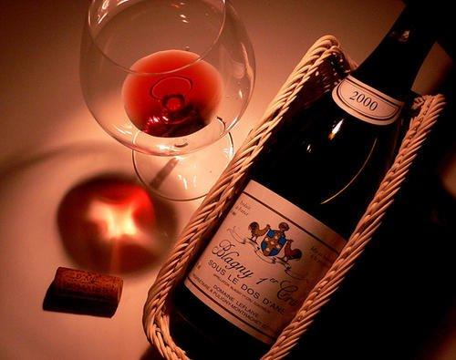 红葡萄酒与黑巧克力搭配