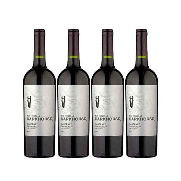 嘉露酒庄在英国推出葡萄酒品牌Dark Horse的新包装