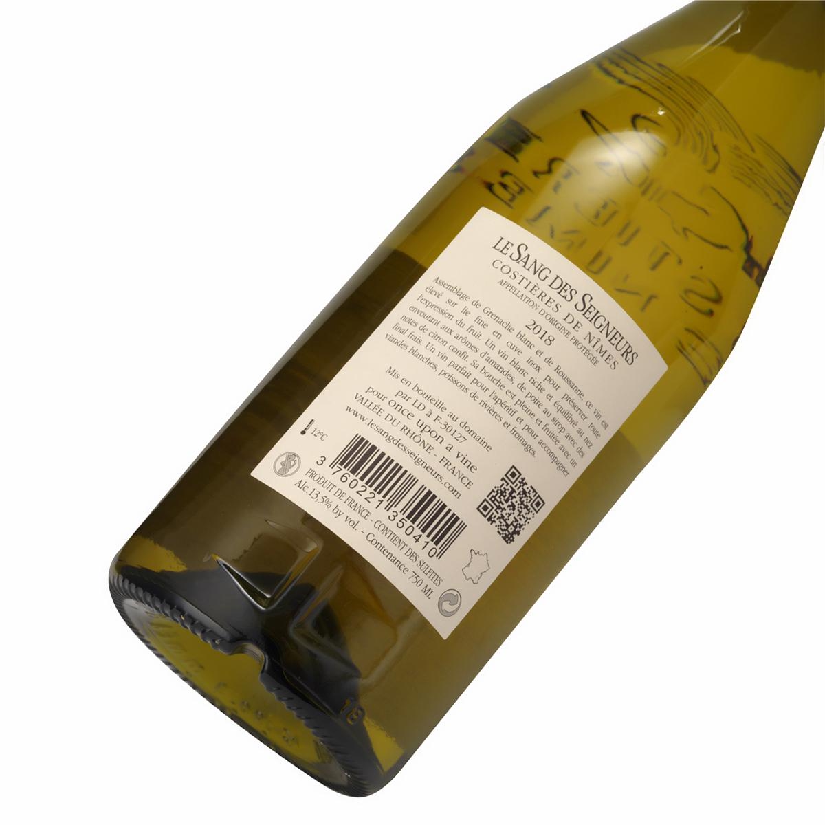 法国尼姆干白葡萄酒  Le Sang des Seigneurs