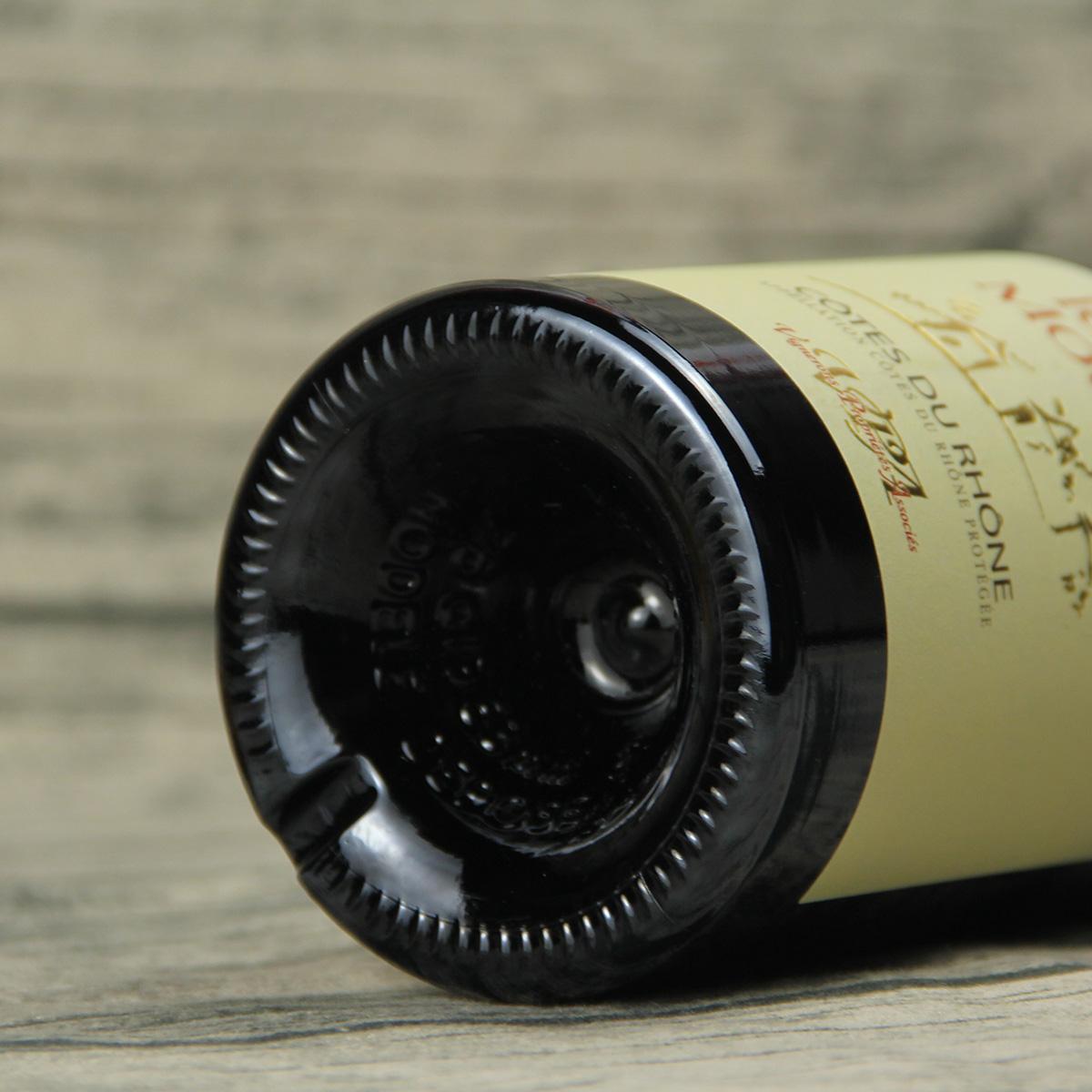 法國羅納河谷聯盟酒莊歌海娜西拉三塔AOC干紅葡萄酒