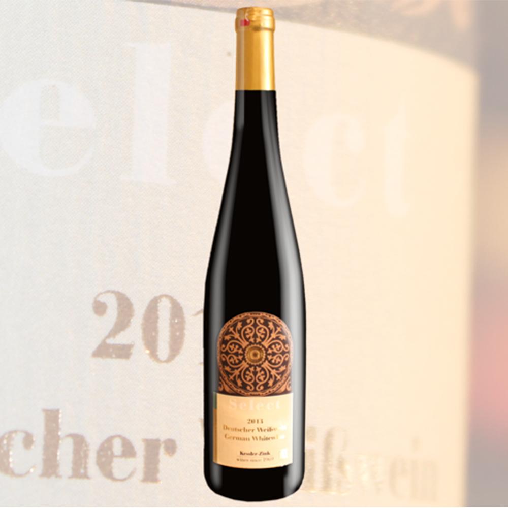 德国莱茵黑森凯斯勒酒庄思莱西尔瓦娜半甜白葡萄酒