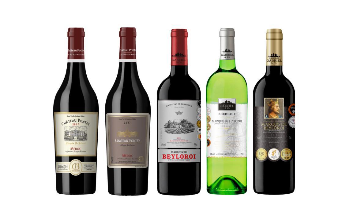 馨霖(天津)国际贸易联手波尔多加百利酒园推出精品系列—贝洛王葡萄酒(MARQUIS DE BEYLOROI)
