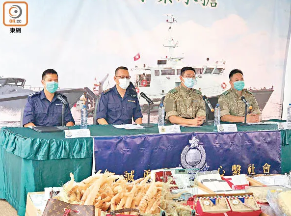 香港海关破获一起内地走私案,货物包括30000港元的30年威士忌
