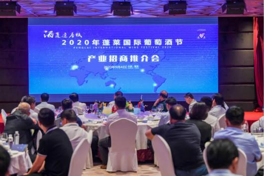 2020年蓬莱国际葡萄酒节产业专题招商推介会日前举行
