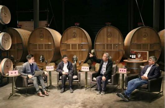 第十六届全国网络媒体宁夏行活动最后一站来到西鸽酒庄