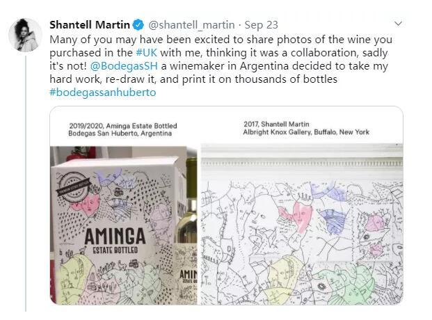 阿根廷神猎者酒庄被指控抄袭别人作品