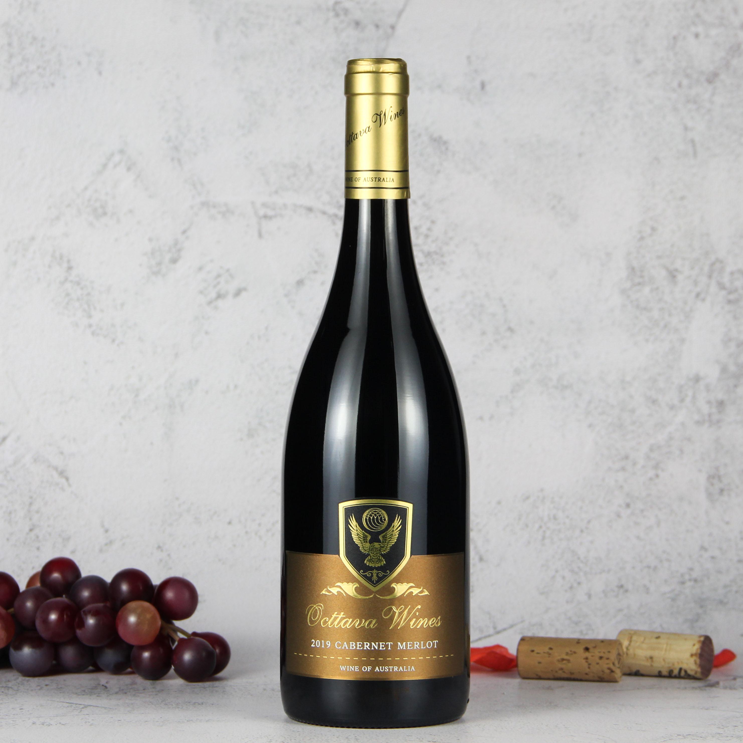 澳大利亚莫宁顿半岛奥德华酒庄鹰皇系列赤霞珠梅洛红葡萄酒红酒