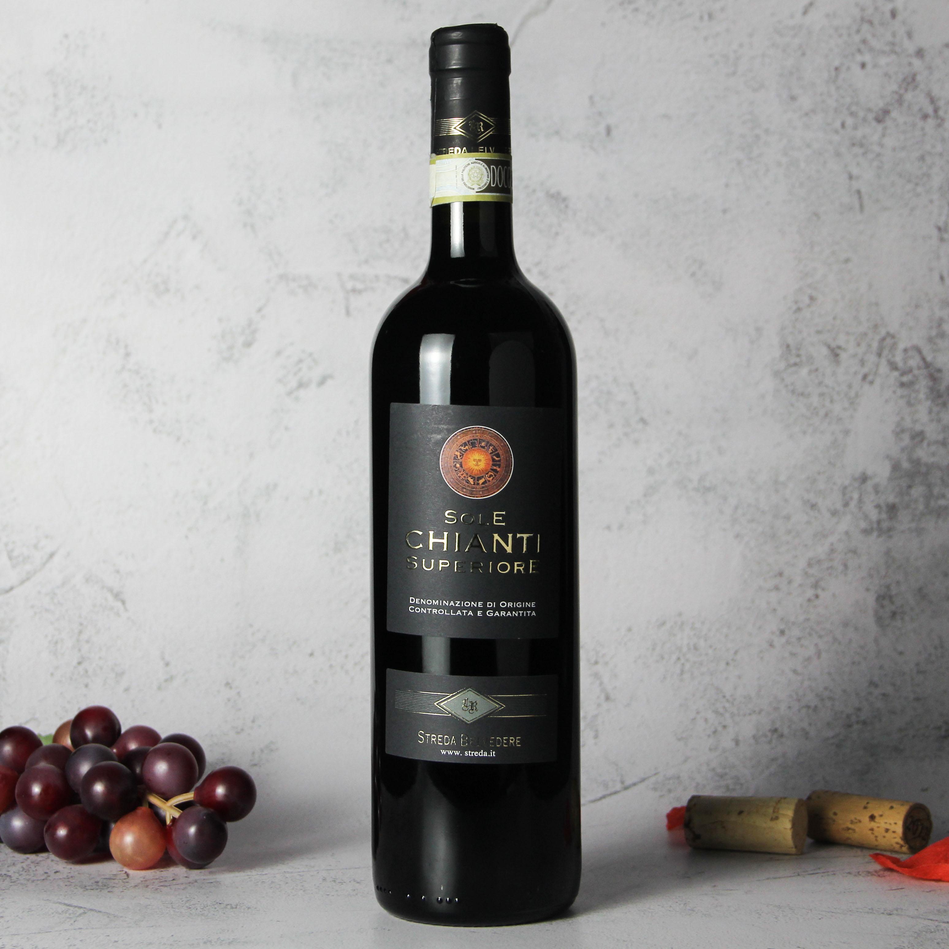意大利托斯卡纳珍藏奇安蒂干红葡萄酒红酒