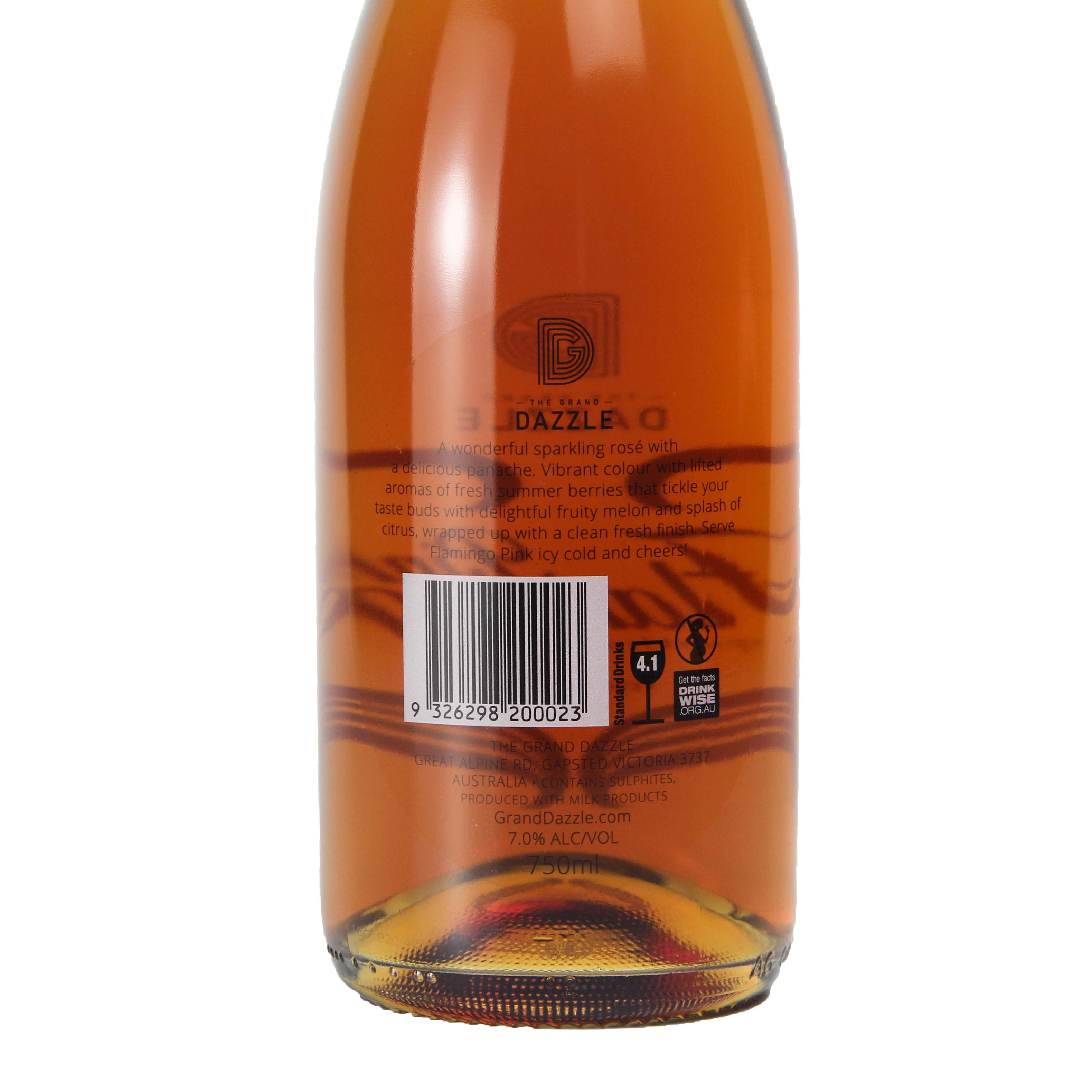 澳大利亚西澳格兰达斯 粉红火烈鸟桃红起泡葡萄酒