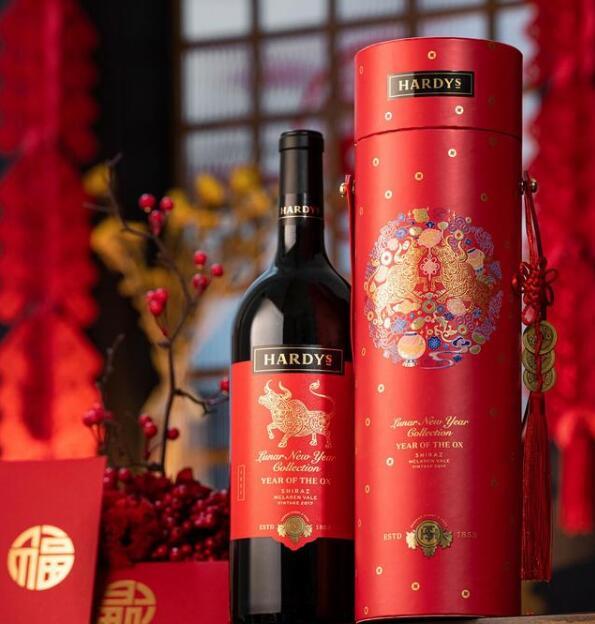 夏迪葡萄酒品牌发布牛年特别版限量高端礼盒