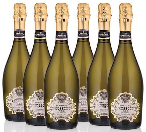 粉红普罗赛克助推利德连锁超市的葡萄酒圣诞节销售量
