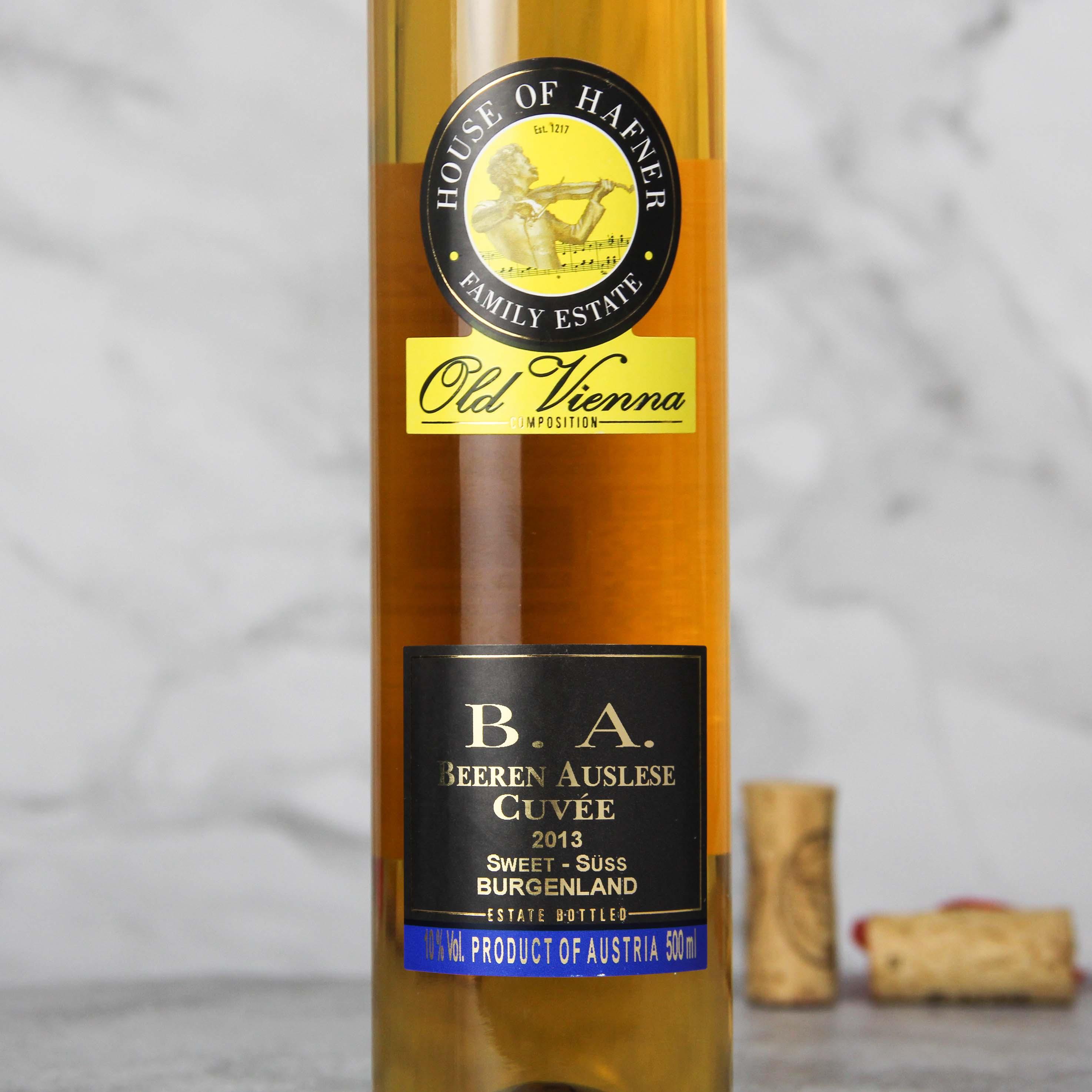 奥地利布尔根兰B.A 貴腐甜白葡萄酒 2013