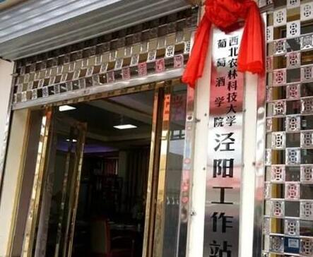 西北农林科技大学葡萄酒学院 (泾阳)工作站正式揭牌