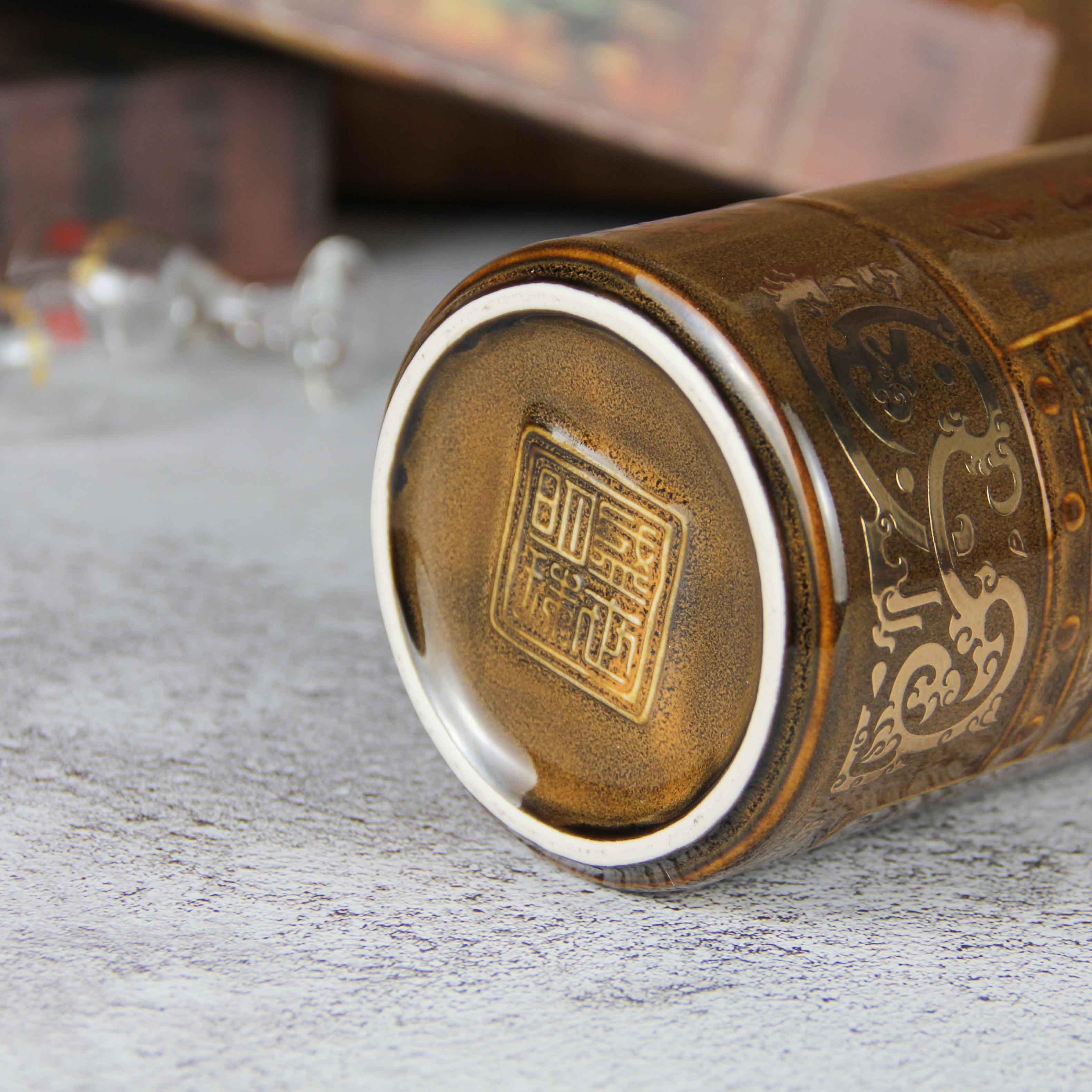 中国贵州茅台镇盛世酱珠酱香型白酒