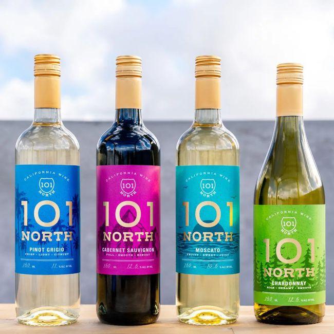 葡萄酒生产商The Wine Group发布葡萄酒101 North系列产品