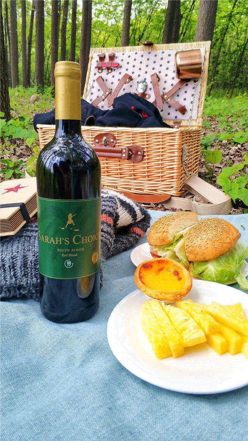 南非沙拉之河特级混酿红葡萄酒