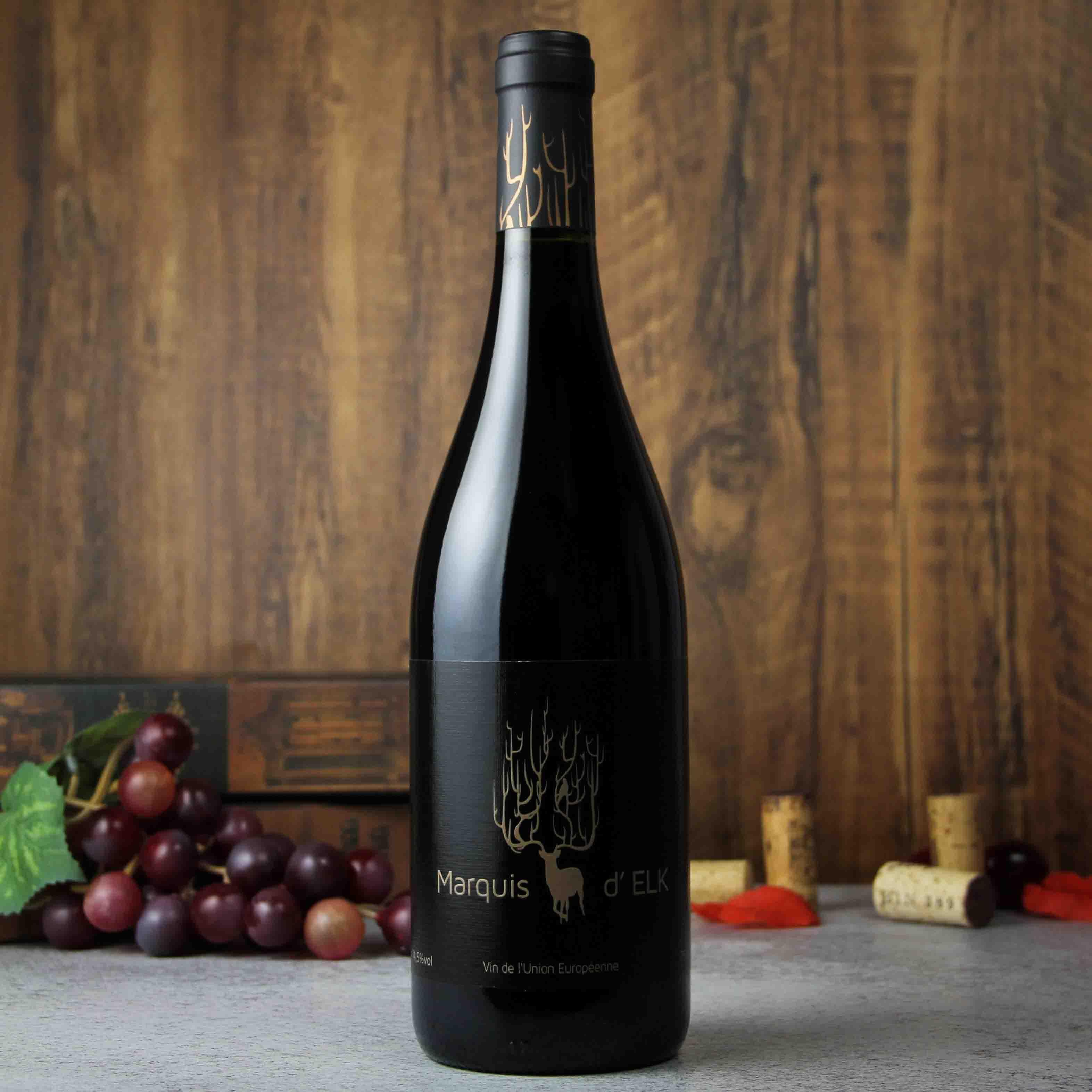 麋鹿侯爵红葡萄酒