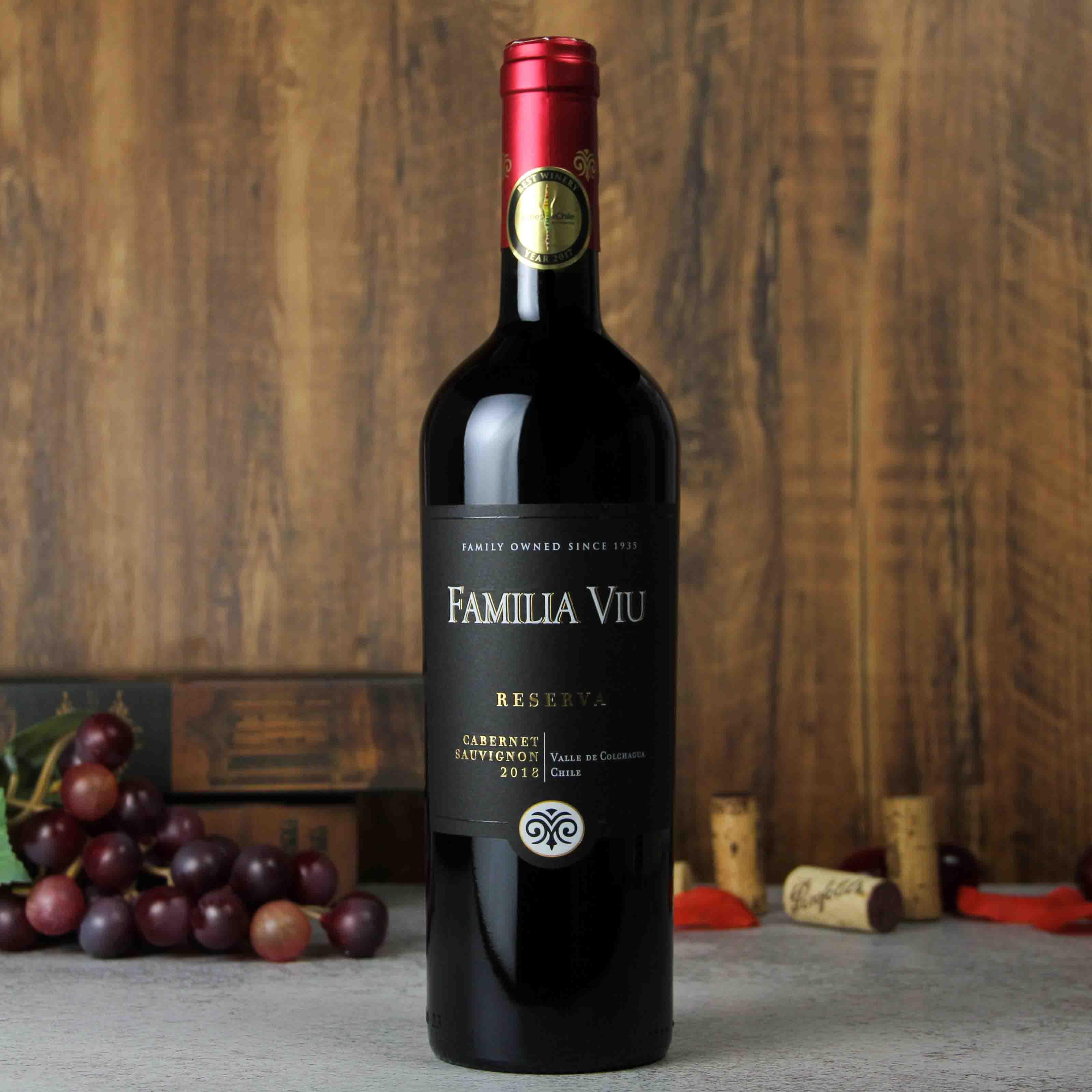 威玛珍藏赤霞珠红葡萄酒