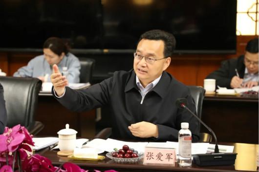 市长张爱军率考察组到访考察张裕葡萄酒酿酒股份有限公司