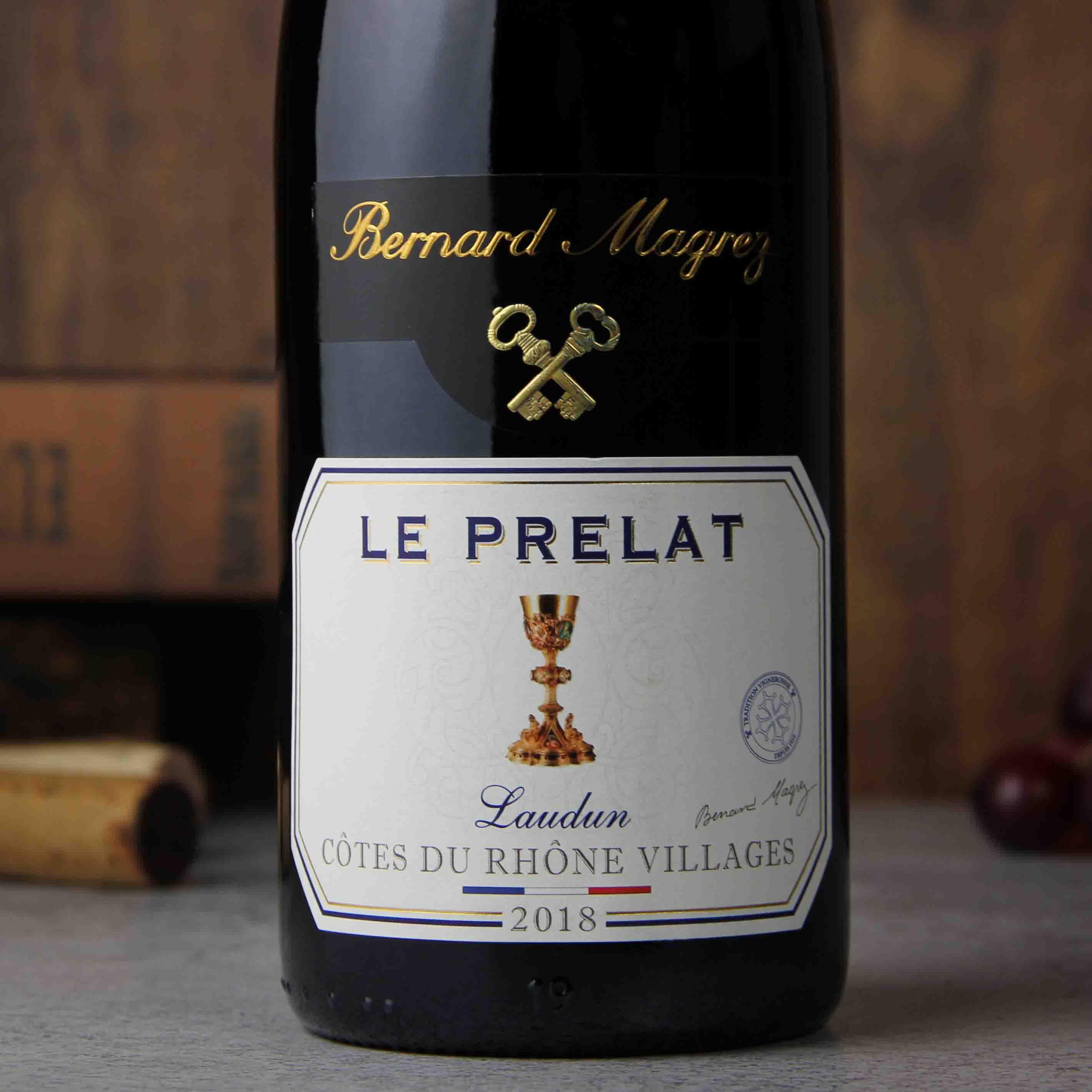 法国罗纳河谷贝玛格雷大主教红葡萄酒