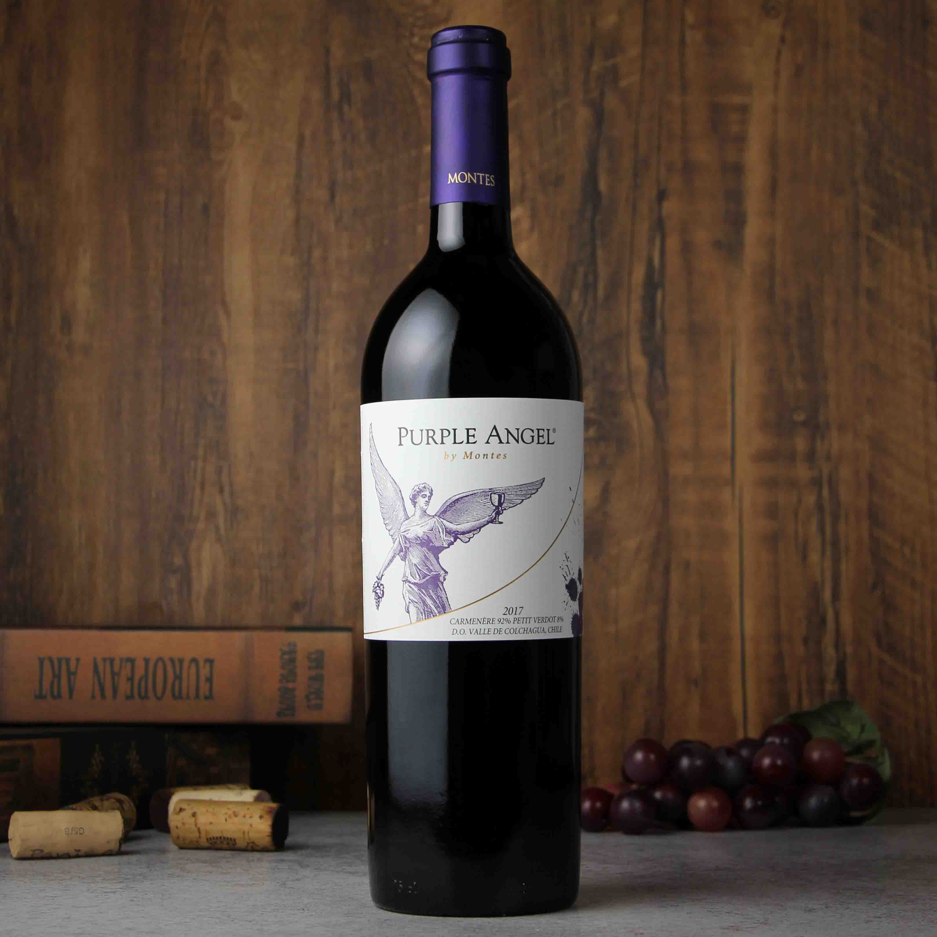 蒙特斯紫天使干红葡萄酒