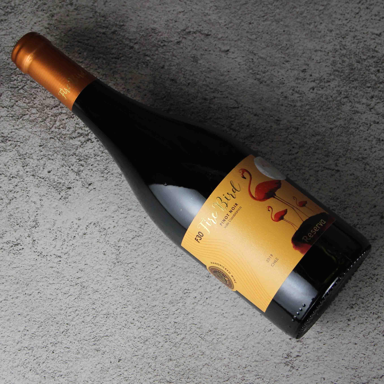 火烈鸟珍藏黑皮诺红葡萄酒