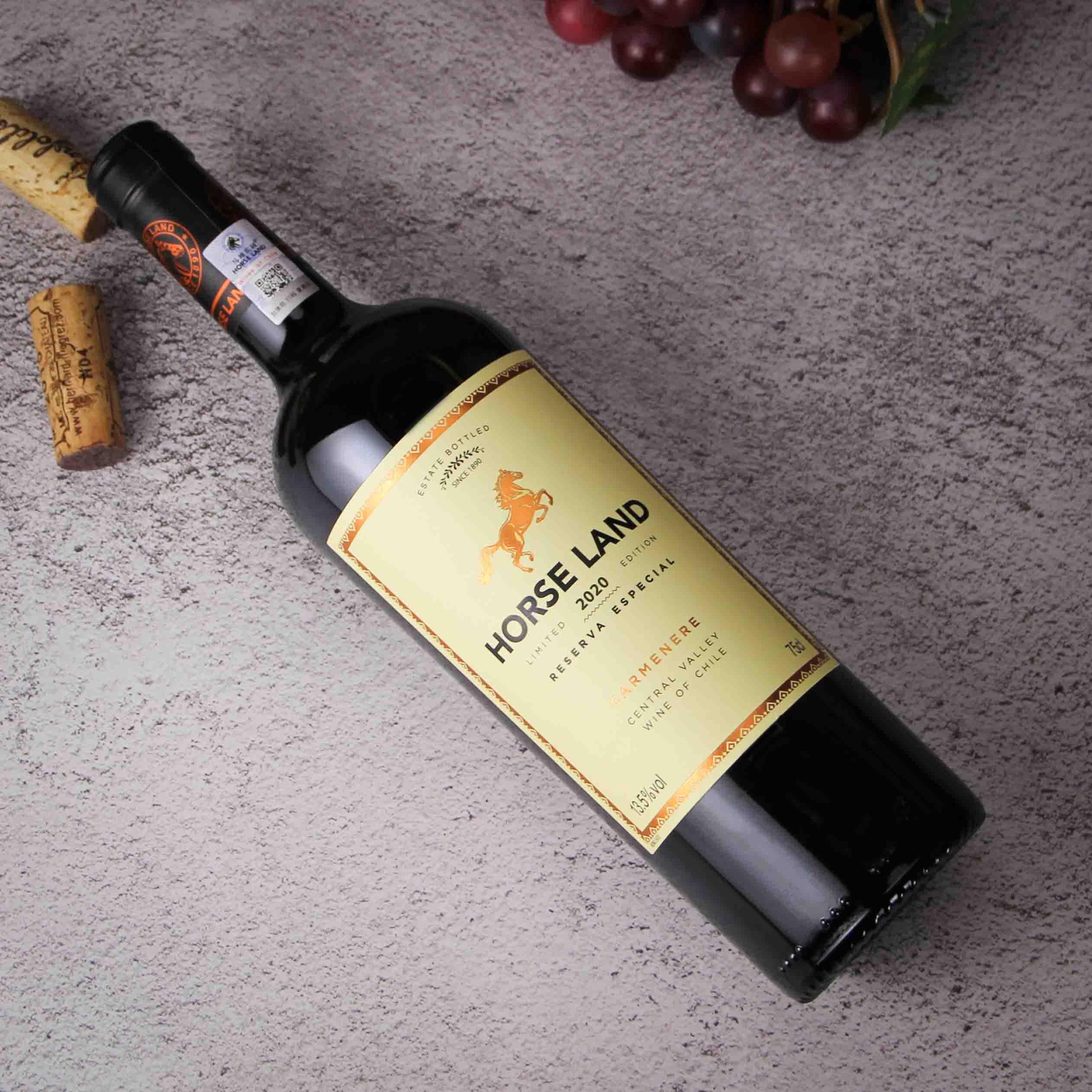 智利马地庄园特选珍藏卡曼尼红葡萄酒