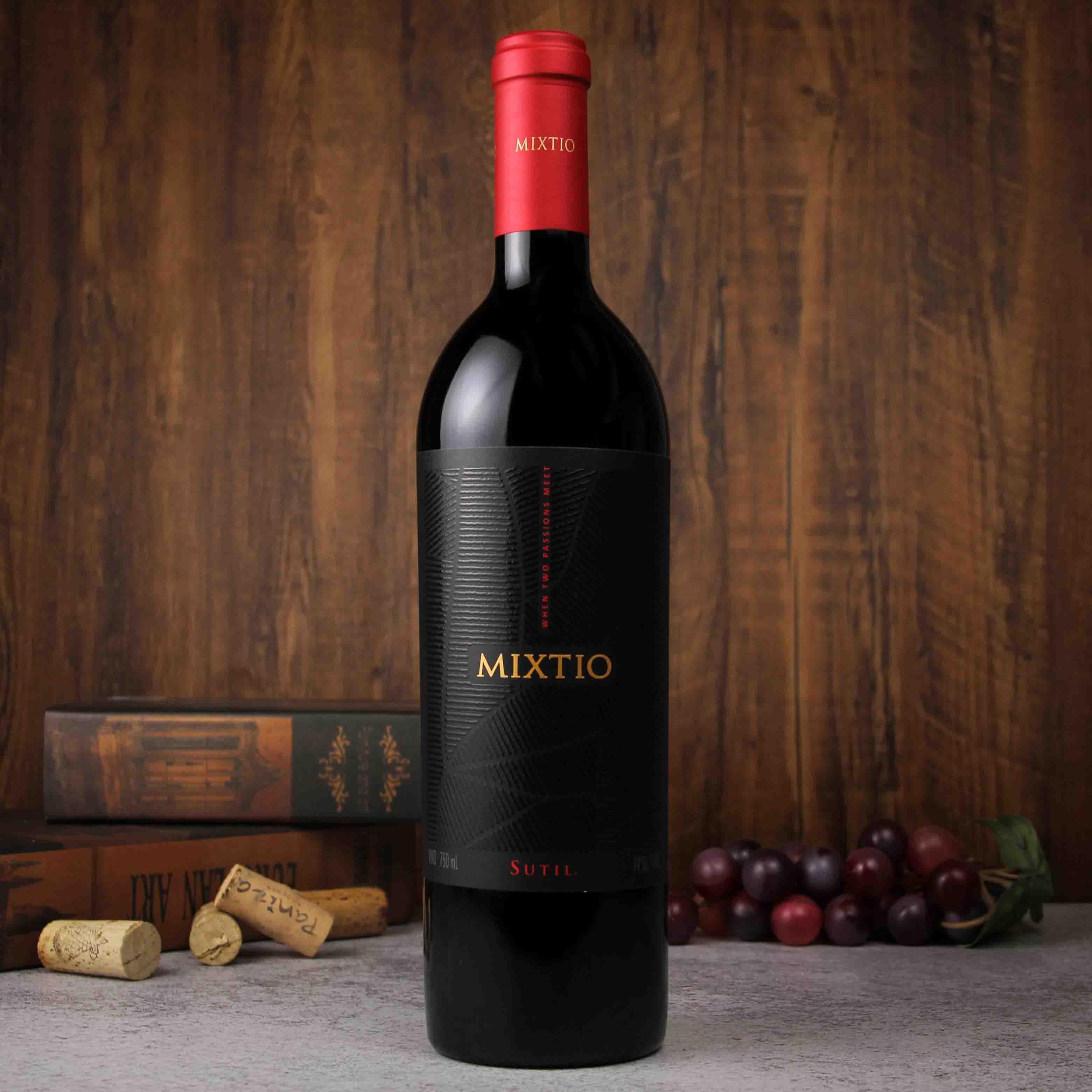 智利科尓查瓜谷苏蒂尔谜题混酿干红葡萄酒