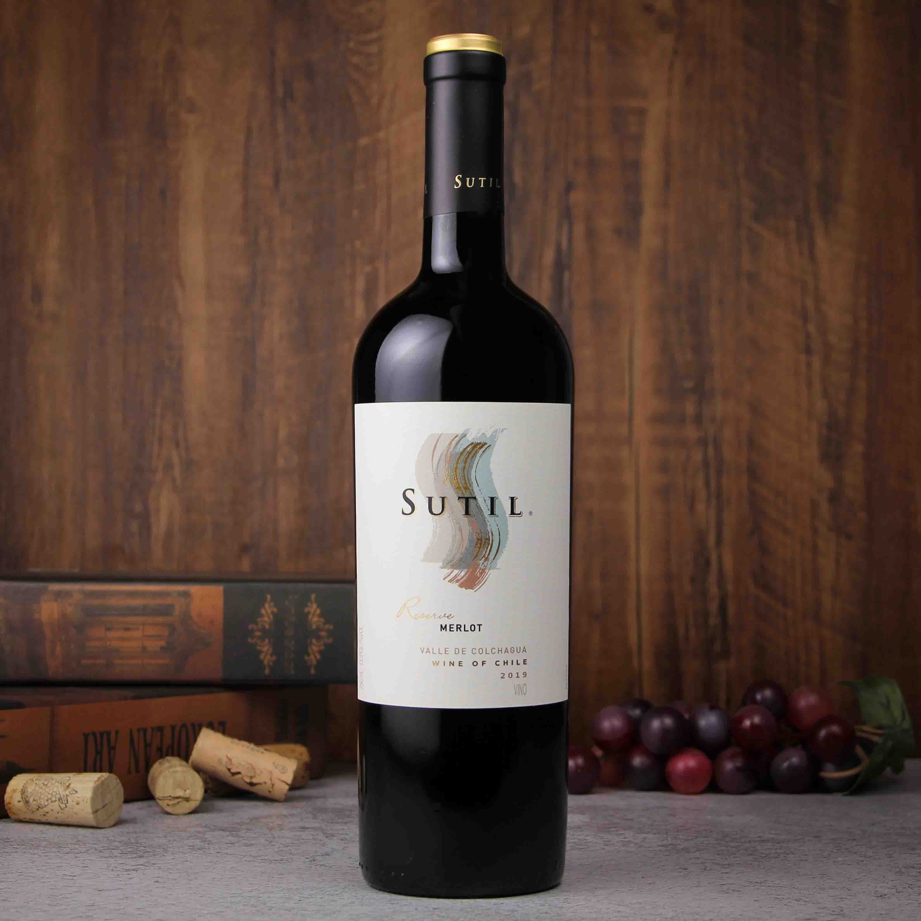 苏蒂尔珍藏梅洛干红葡萄酒