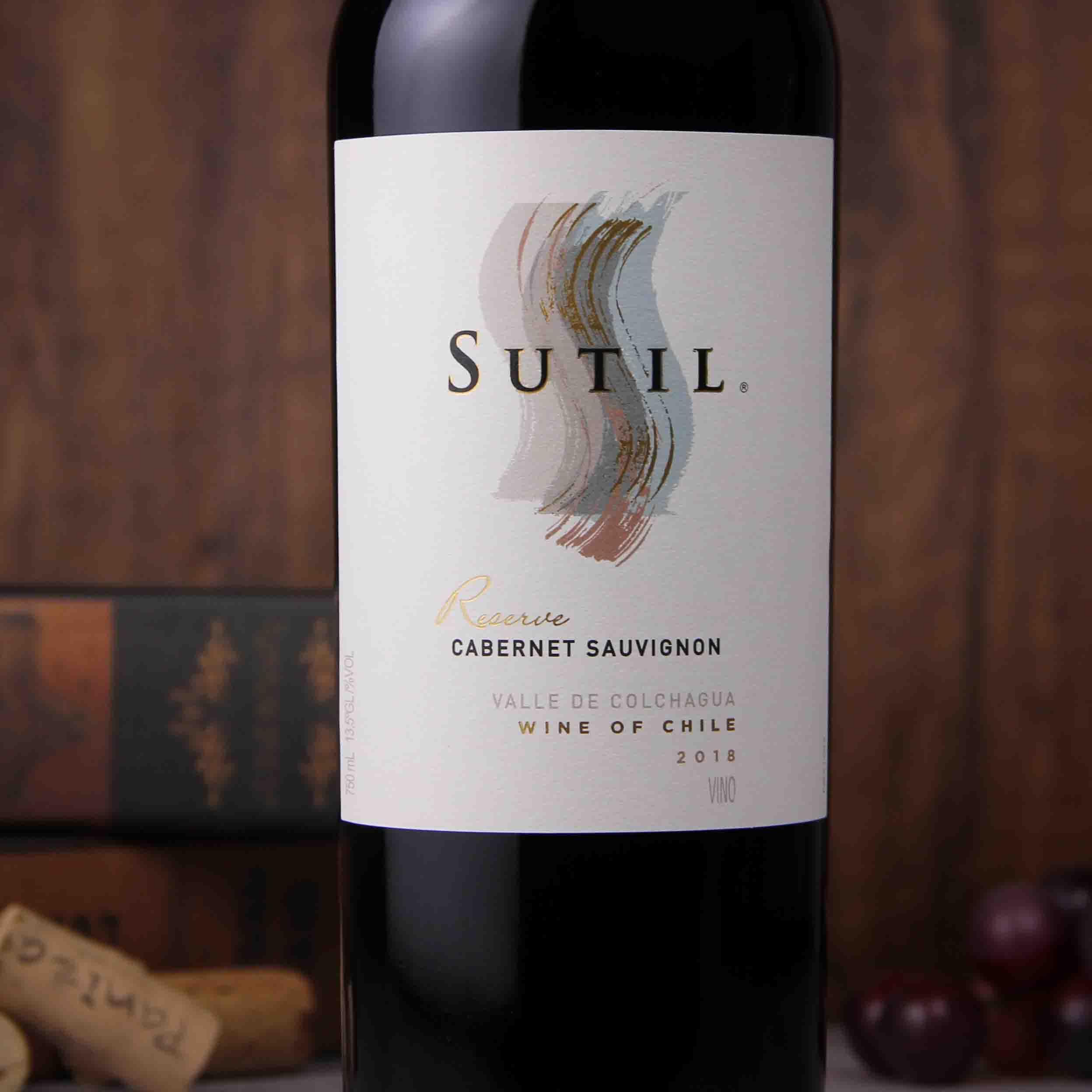 苏蒂尔珍藏赤霞珠干红葡萄酒