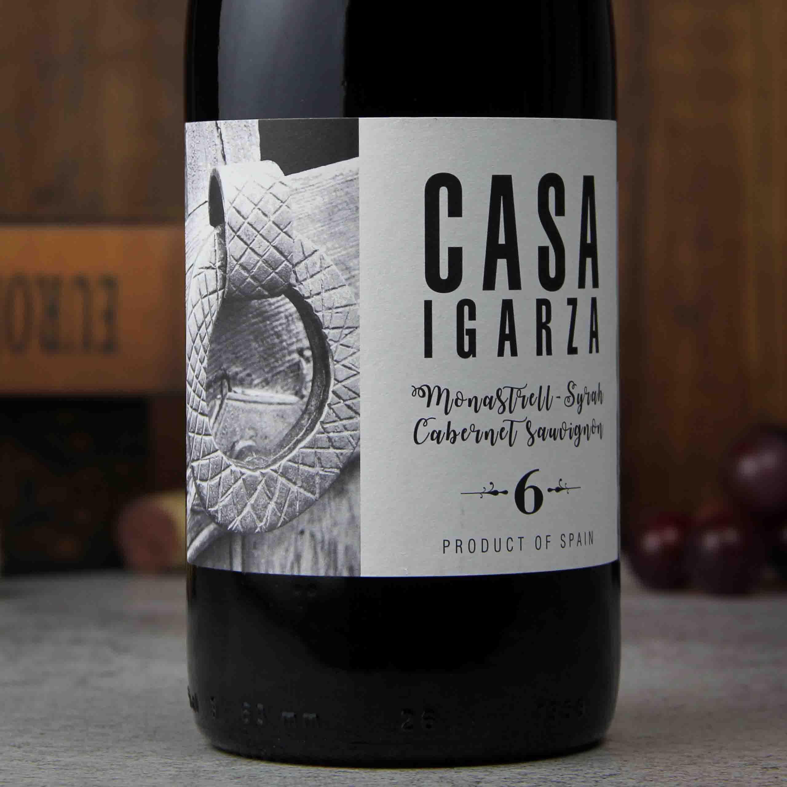西班牙耶克拉家萨 No.6 干红葡萄酒红酒