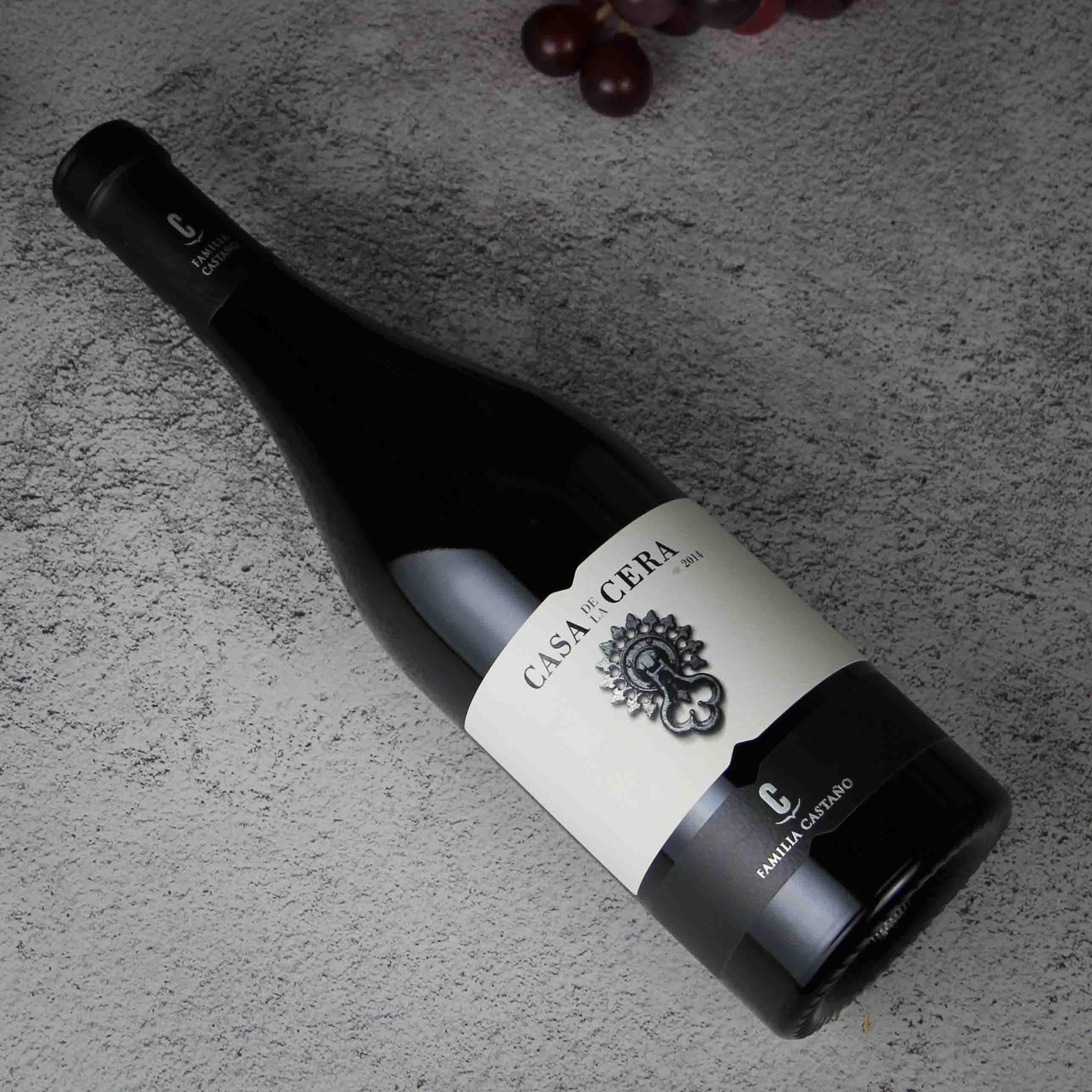 西班牙耶克拉卡萨彩拉干红葡萄酒红酒