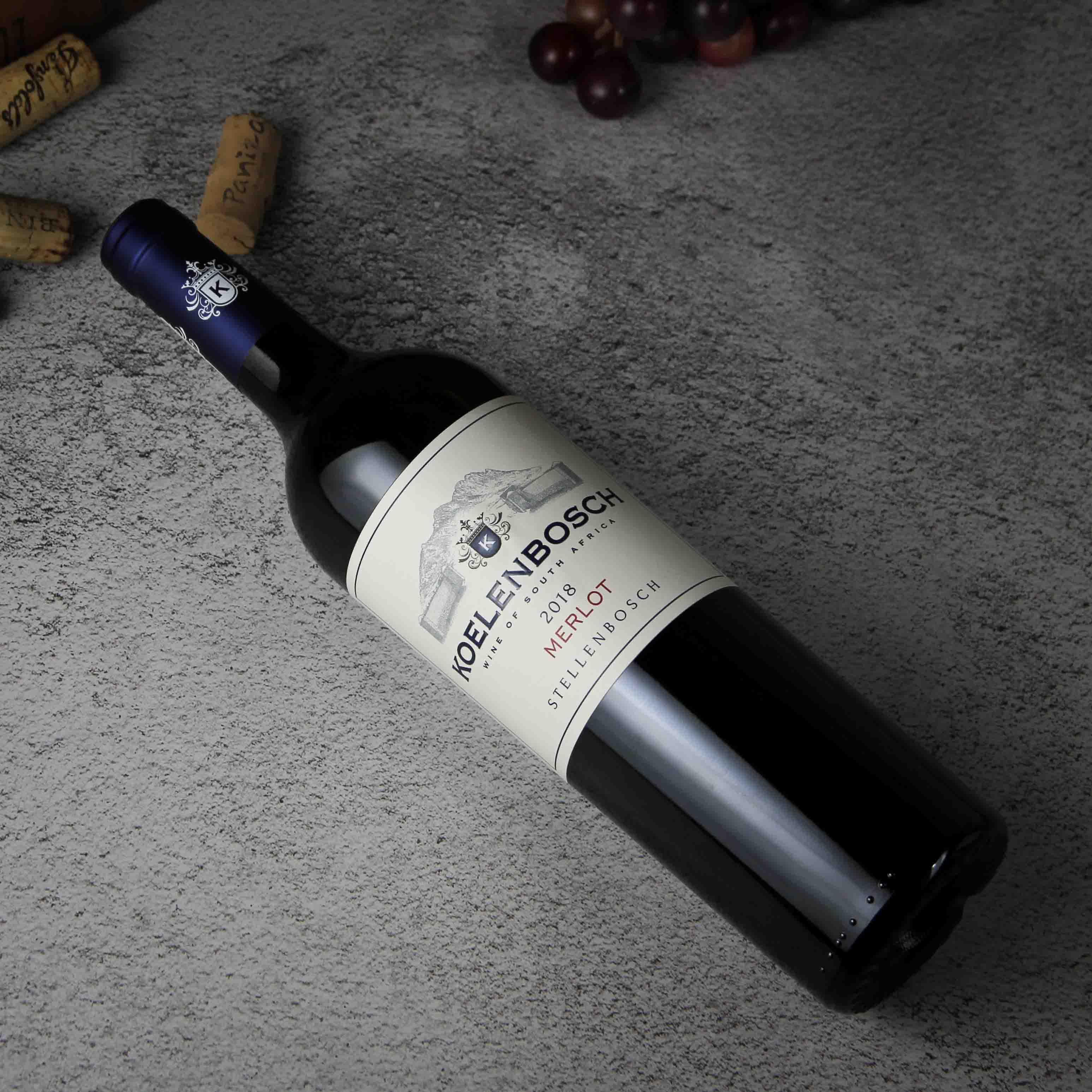 南非斯泰伦博斯豪富庄园克伦博斯梅洛红葡萄酒红酒
