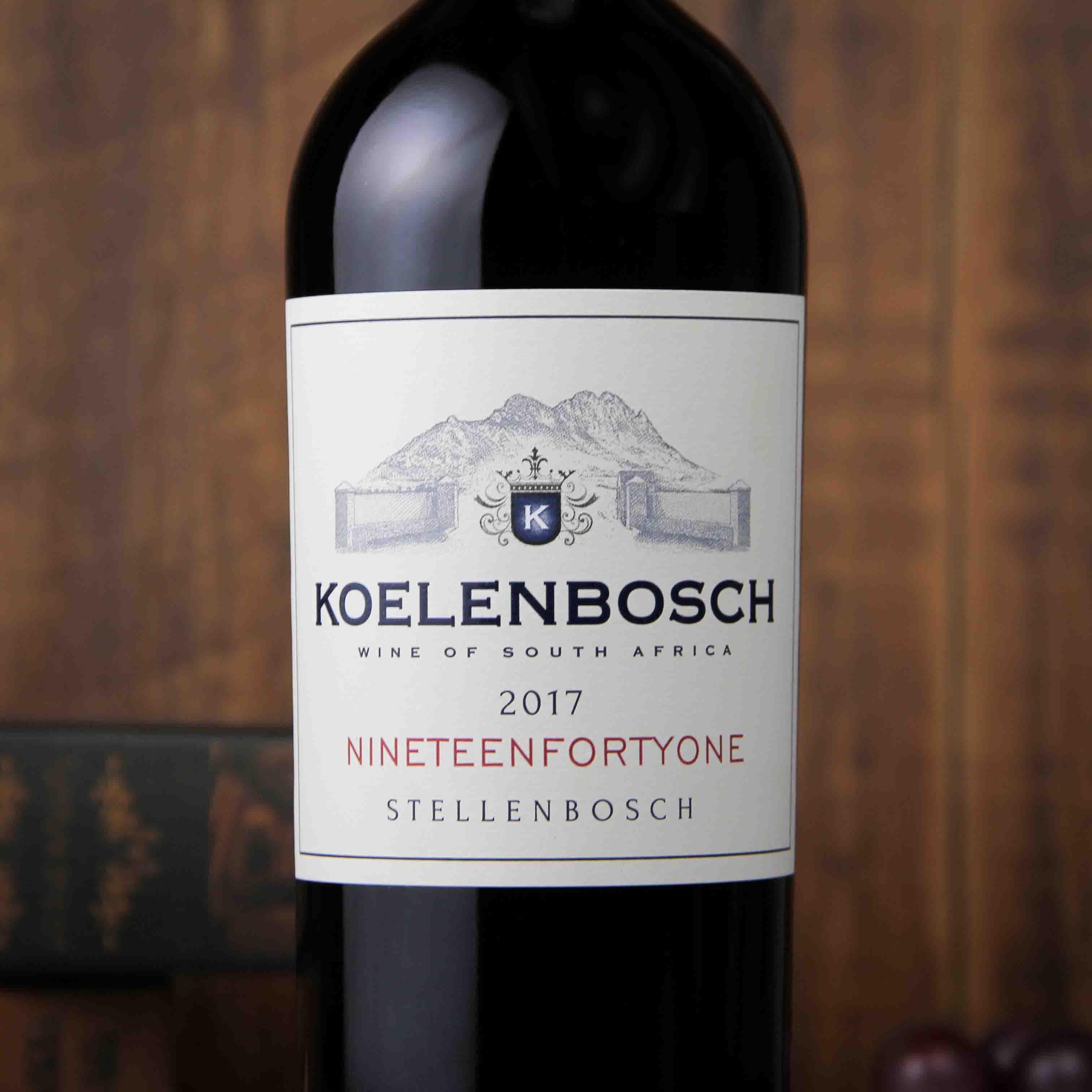 南非斯泰伦博斯豪富庄园克伦博斯红葡萄酒红酒