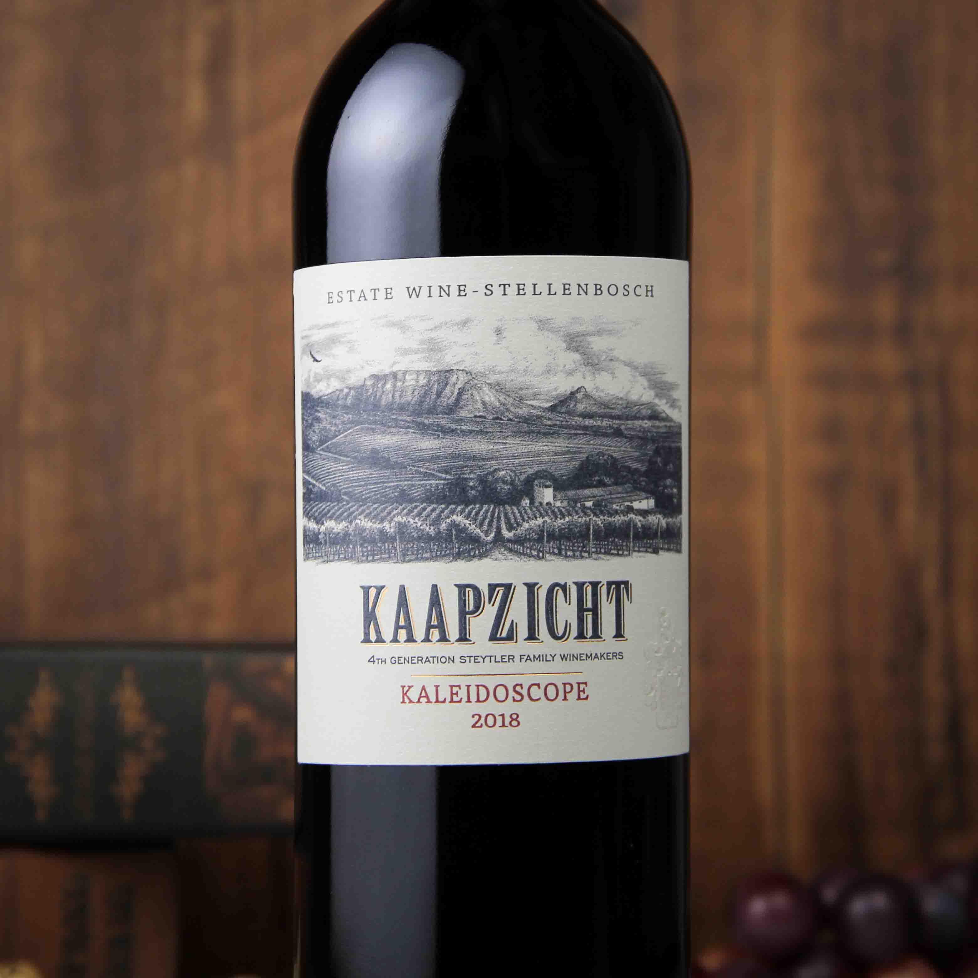 南非斯泰伦博斯桌山庄园万花筒红葡萄酒红酒