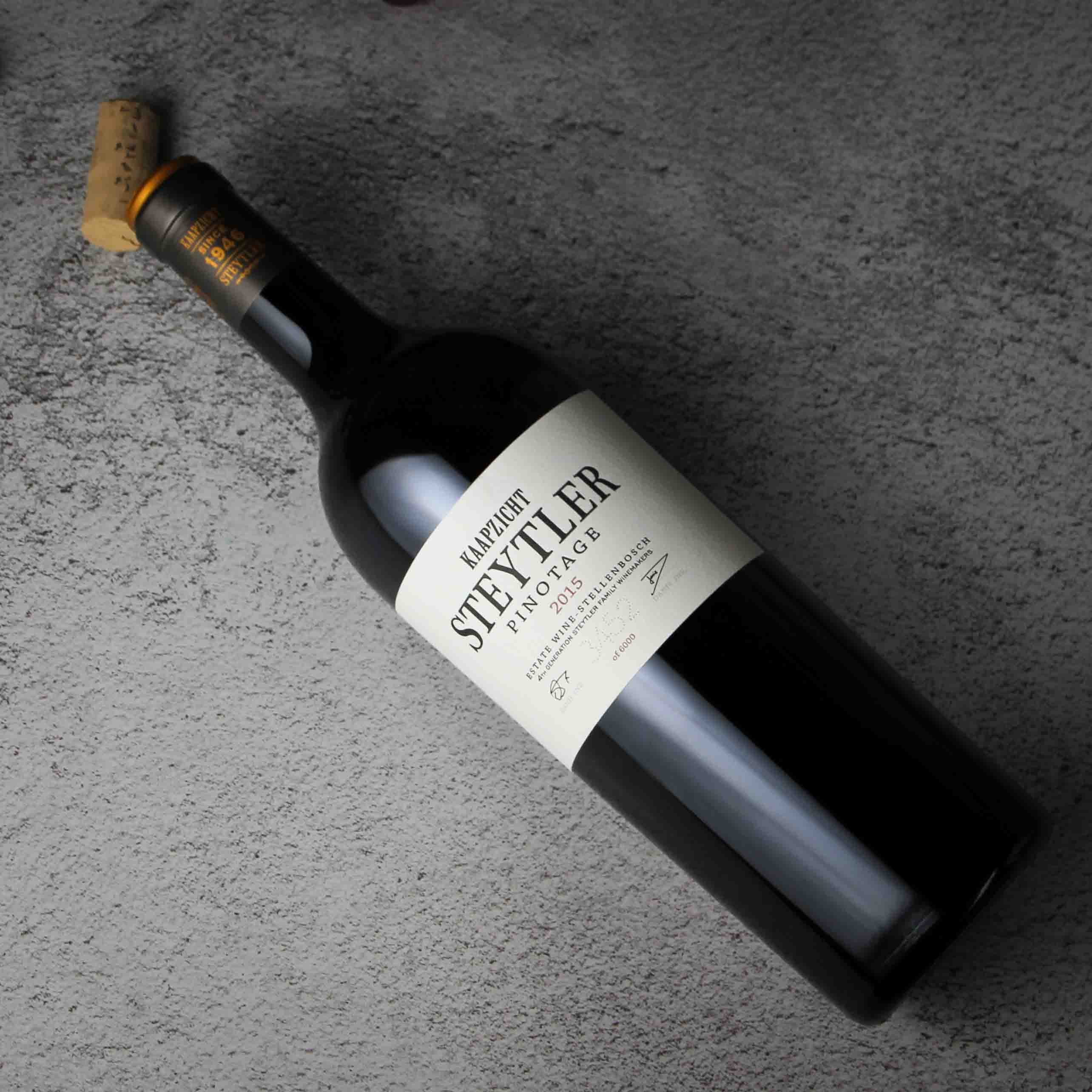 南非斯泰伦博斯斯戴特勒品乐塔吉红葡萄酒红酒(限量版-6000瓶)