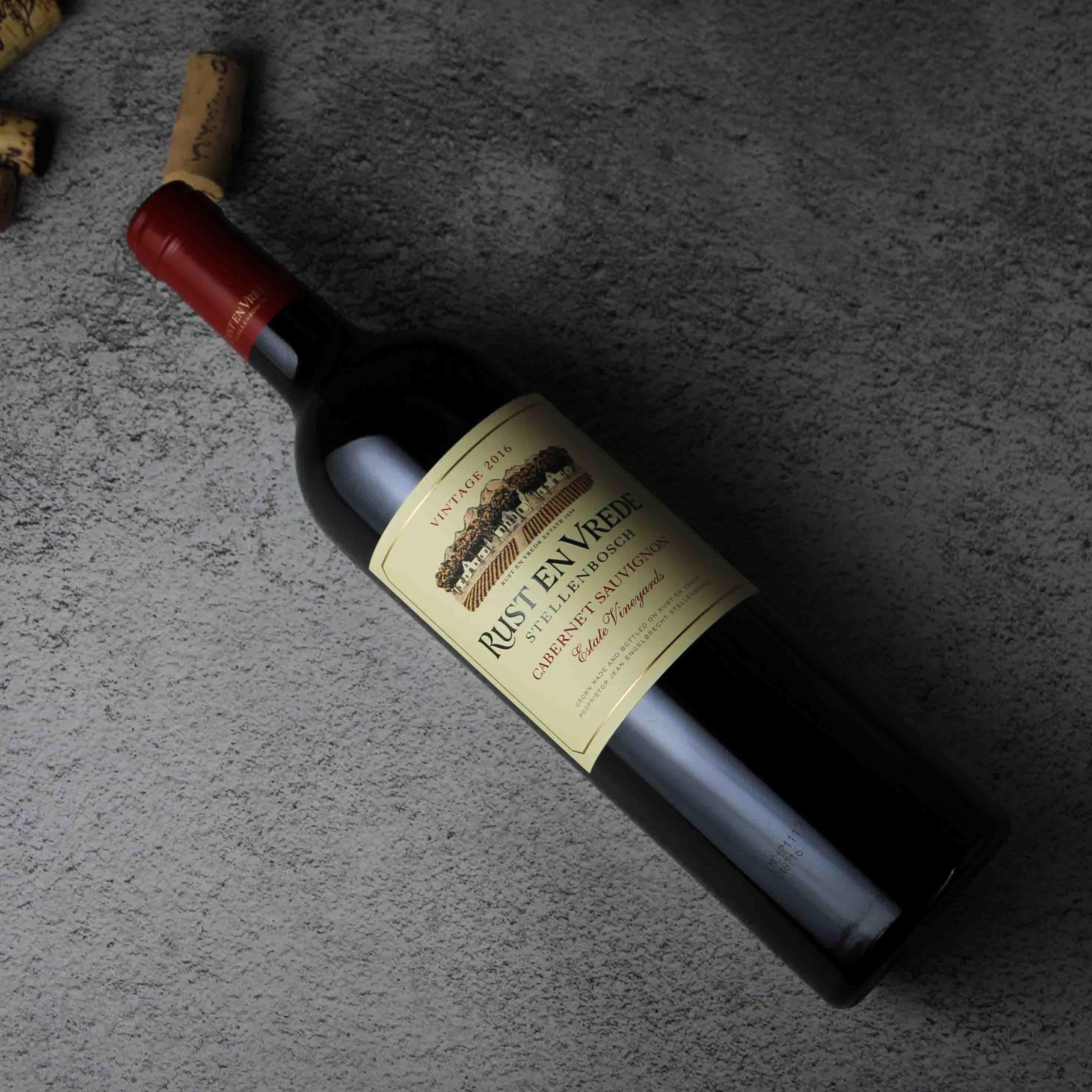 南非斯泰伦博斯福瑞德酒庄葡园赤霞珠红葡萄酒红酒