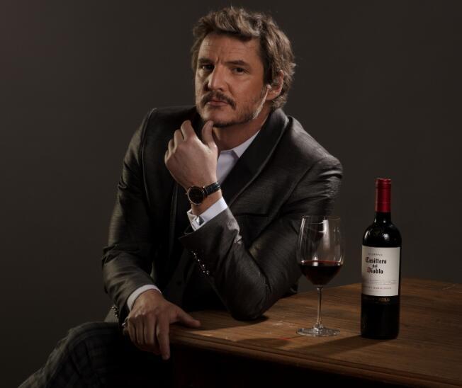 好莱坞明星派德罗·帕斯卡担任红魔鬼葡萄酒的全球大使