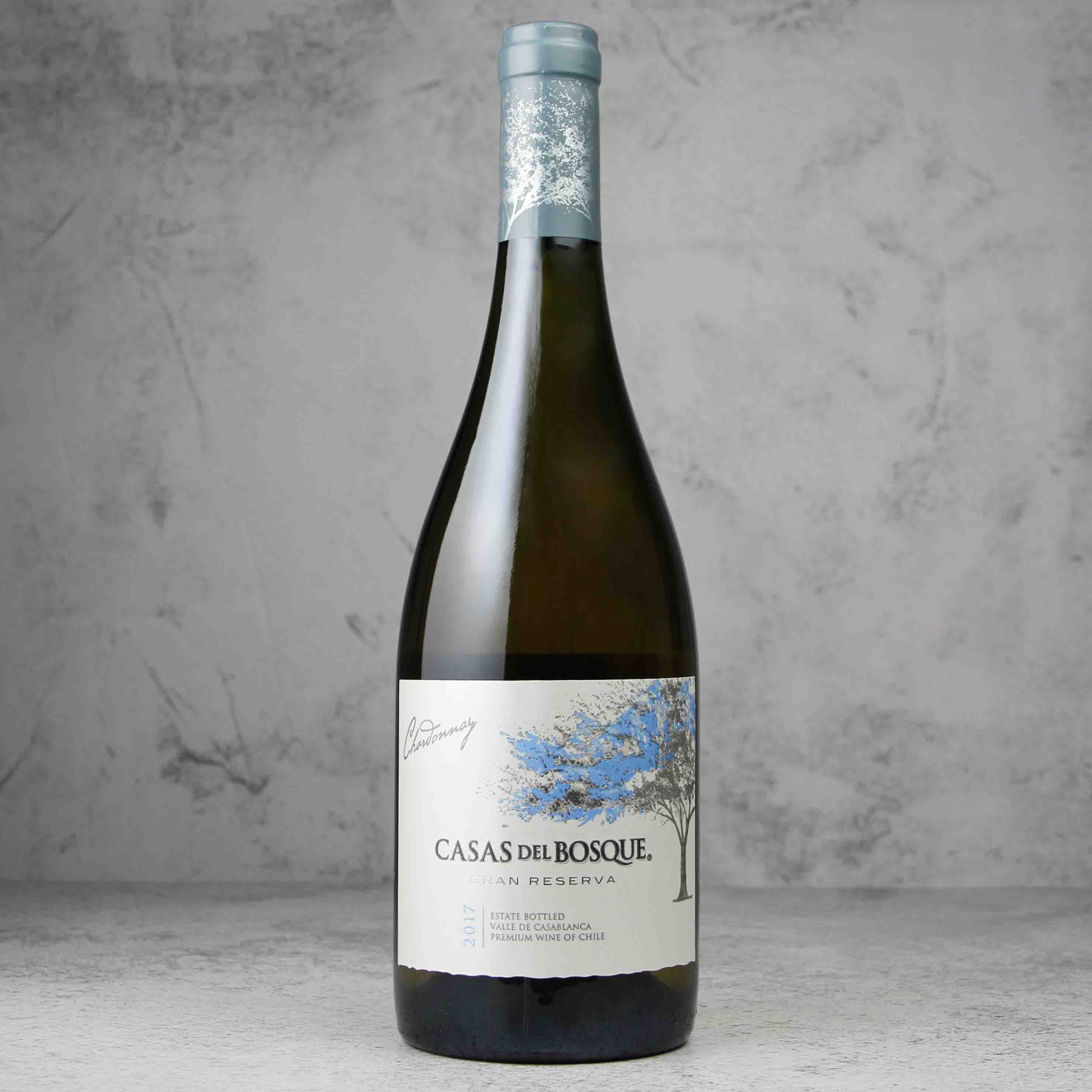 智利卡萨布兰谷卡萨伯斯克特藏霞多丽白葡萄酒